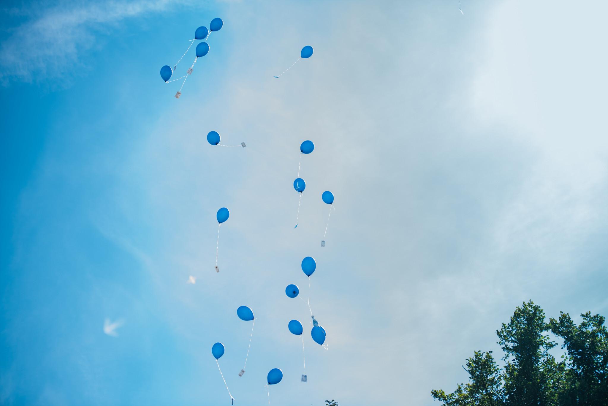 Luftballons zur Hochzeit – Ist es das wert?