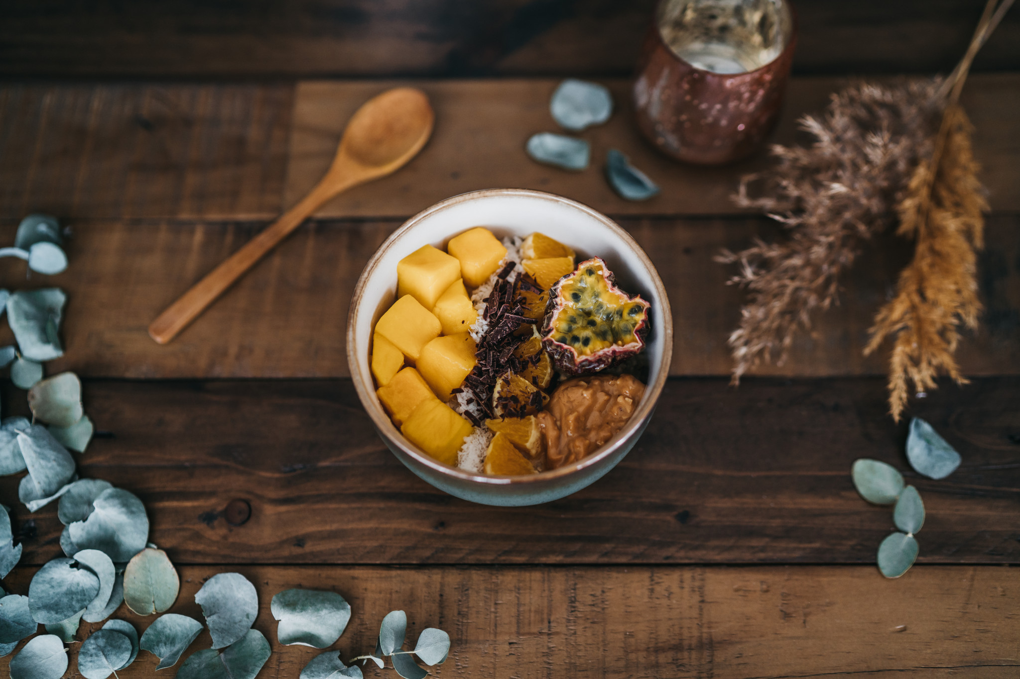 Vegane Food-Inspiration #2: Tropical Porridge-Bowl