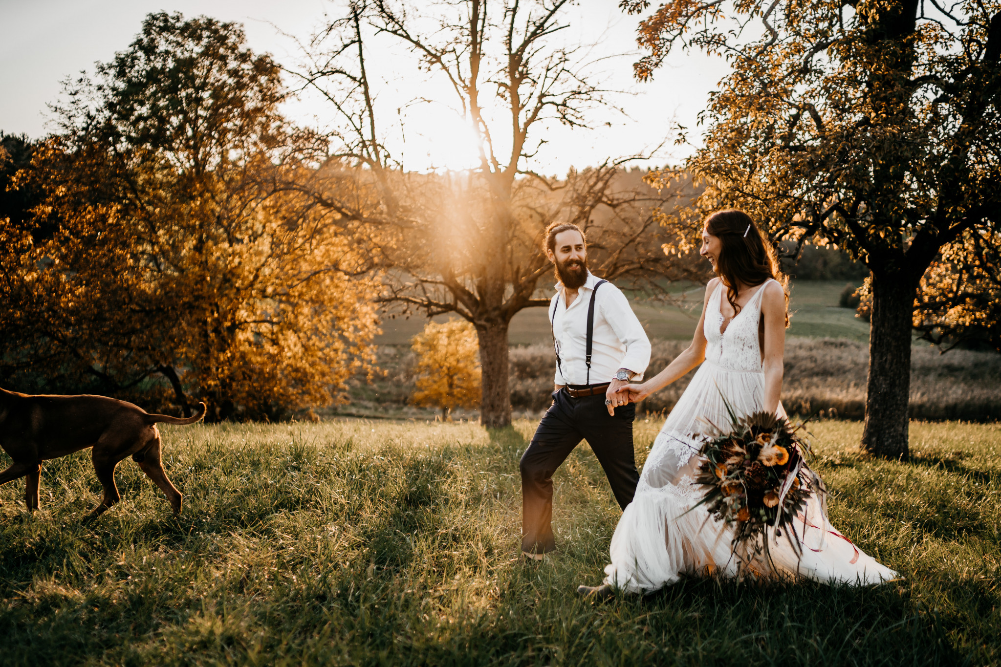 Bohemian After-Wedding-Shooting Odenwald