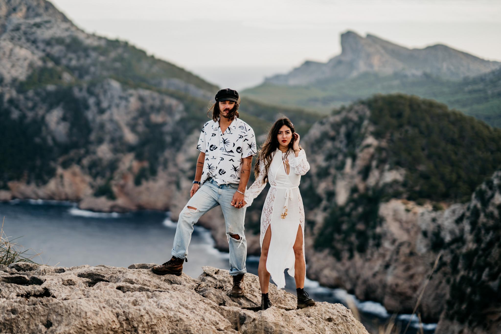 Couple Shoot auf Mallorca