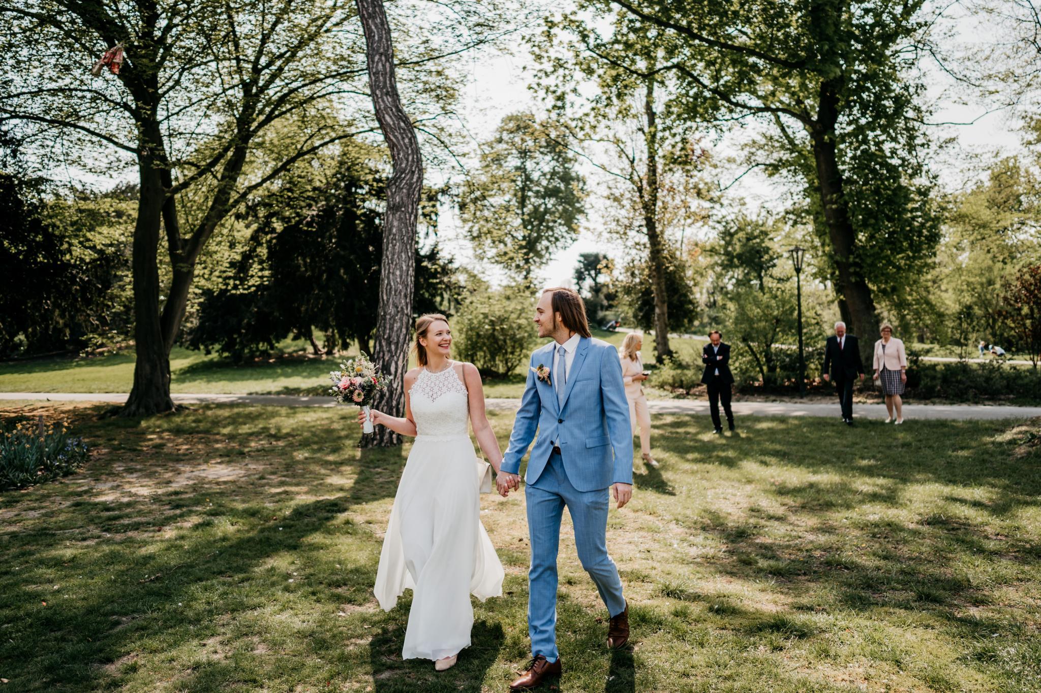Eine Hochzeit trotz Corona